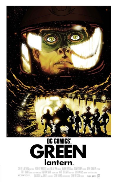 (DC) Cover for Green Lantern #40 Tony Harris Movie Poster Variant Cover - 2001: A Space Odyssey