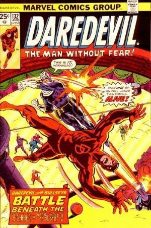 Comic Cover for Daredevil (#132)