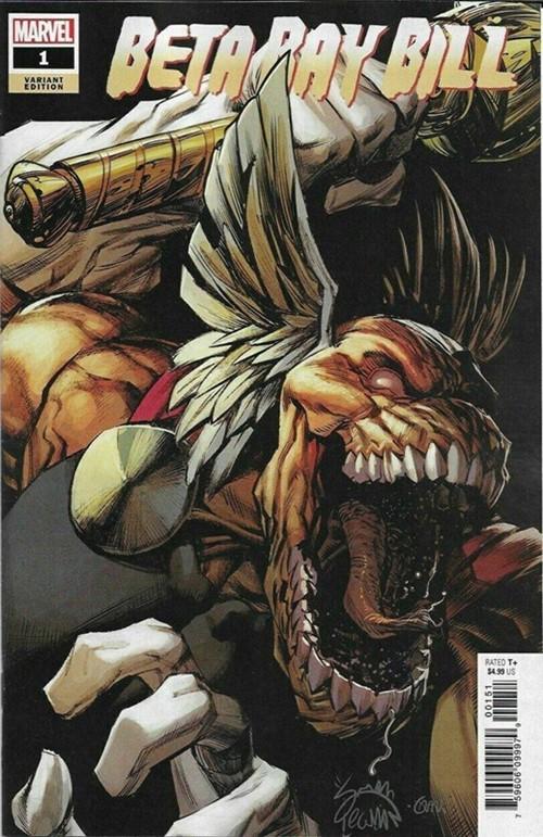 (Marvel) Cover for Beta Ray Bill #1 Ryan Stegman Variant Cover