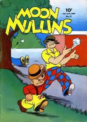 Comic Cover for Moon Mullins (Four-Color) (#31)
