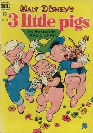 Comic Cover for Three Little Pigs (Four Color) (#218)