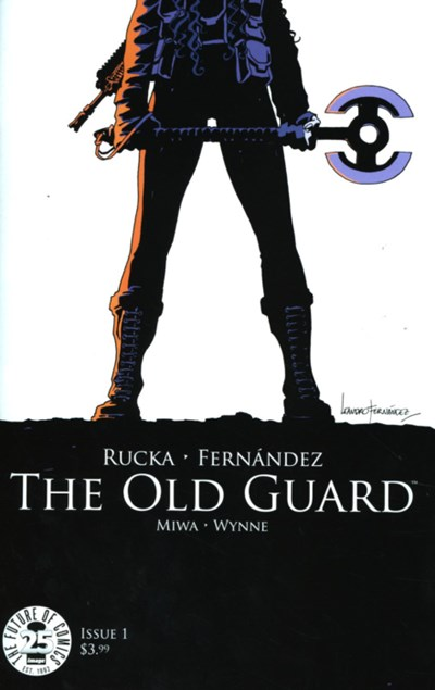 (Image) Cover for Old Guard #1 Netflix Show Released in July 2020
