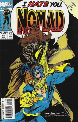 Comic Cover for NOMAD (#)