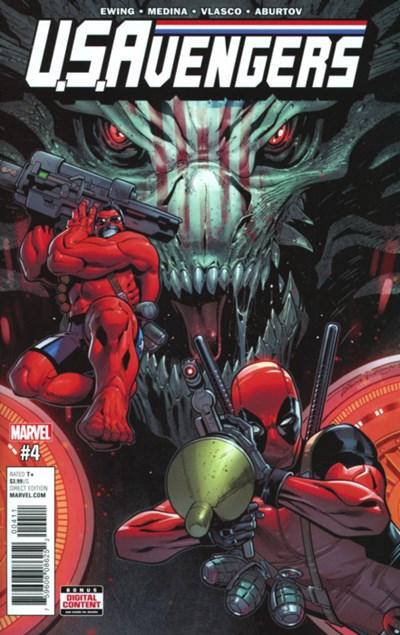 Comic Cover for U.S.AVENGERS (#)