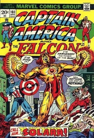 (Marvel) Cover for Captain America #160 1st Appearance of Solarr (Silas King)