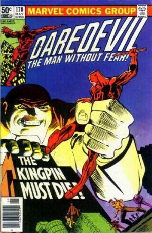 Comic Cover for Daredevil (#170)