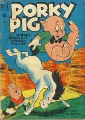 Comic Cover for Porky Pig (Four Color) (#311)