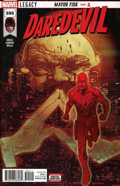 Comic Cover for Daredevil (#595)
