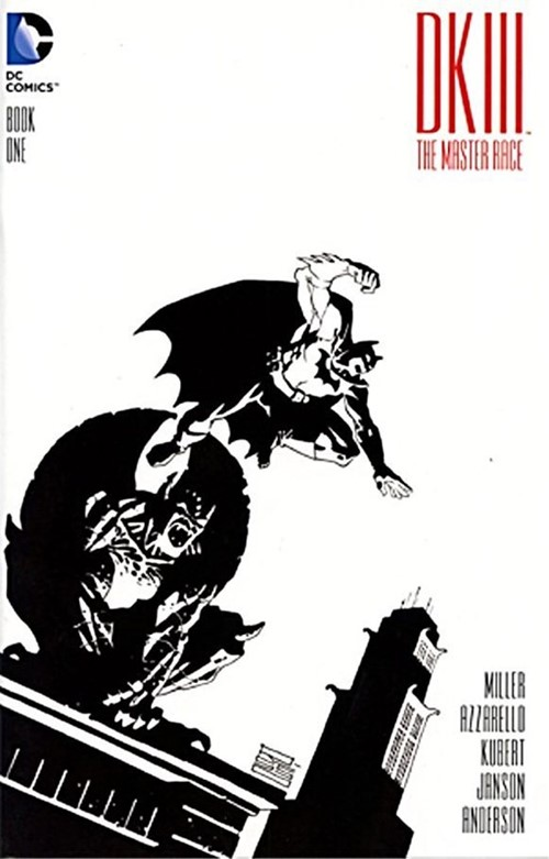(DC) Cover for Dark Knight Iii: The Master Race #1 Beyond Comics Exclusive Sketch Variant Cover by Ed Risso