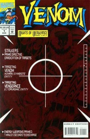 (Marvel) Cover for Venom: Nights Of Vengeance #1
