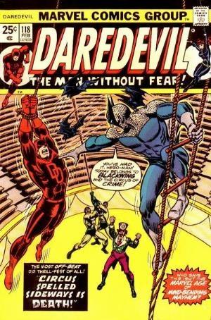 Comic Cover for Daredevil (#118)