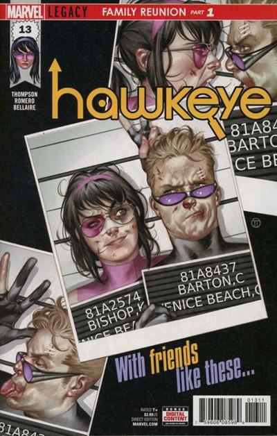 Comic Cover for Hawkeye (#13)