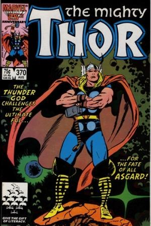 (Marvel) Cover for Thor #370 Direct Edition
