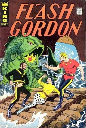 (King Features) Cover for Flash Gordon #6