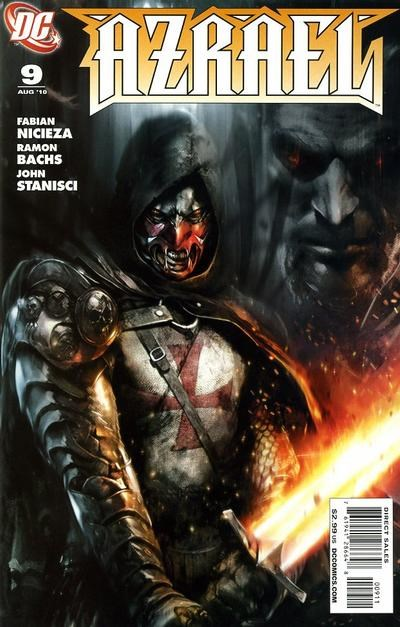 (DC) Cover for Azrael #9
