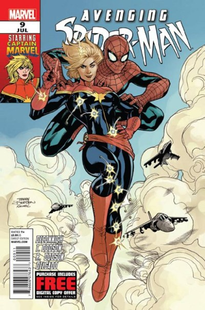 Comic Cover for Avenging Spider-Man (#9)