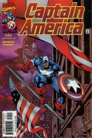 Comic Cover for Captain America (#33)