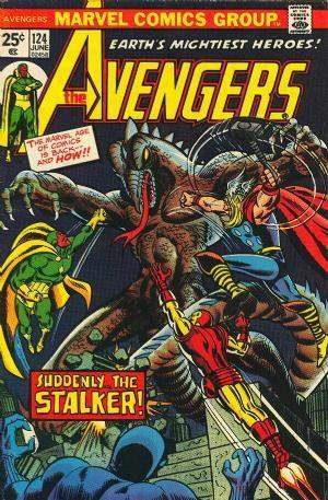 Comic Cover for Avengers (#124)