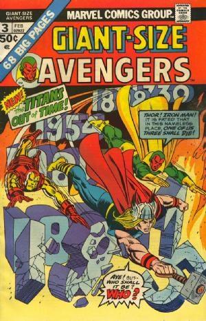 Comic Cover for Avengers (#3)