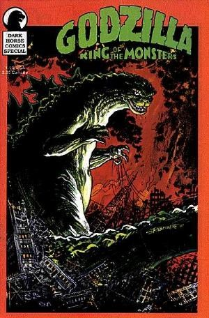 (Dark Horse) Cover for Godzilla: King Of The Monsters Special #1