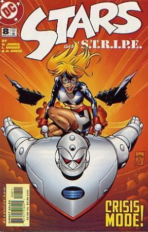 (DC) Cover for Stars & Stripe #8
