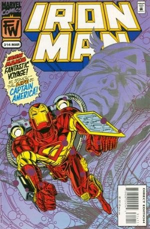 (Marvel) Cover for Iron Man #314