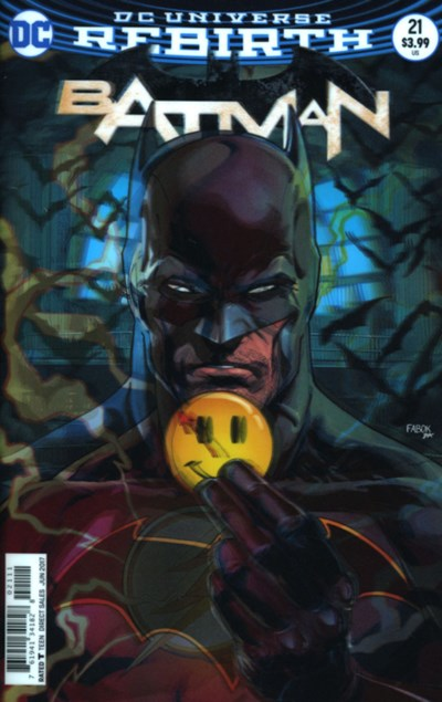 (DC) Cover for Batman #21 Jason Fabok Lenticular Cover