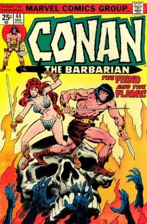 Comic Cover for Conan The Barbarian (#44)