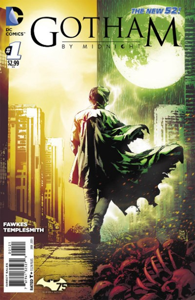 (DC) Cover for Gotham By Midnight #1 Andrea Sorrentino Variant Cover. Limited 1 for 25.