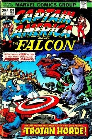 Comic Cover for Captain America (#194)