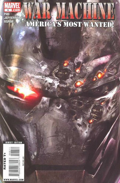 (Marvel) Cover for War Machine #6