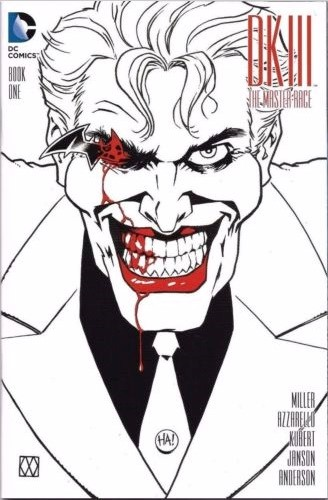 (DC) Cover for Dark Knight Iii: The Master Race #1 Comic Pop Exclusive Sketch Variant Cover by Matt Wagner
