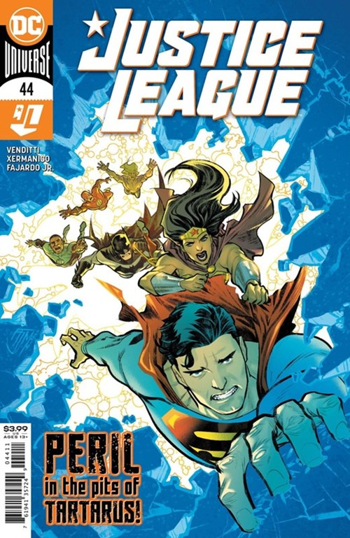 (DC) Cover for Justice League #44