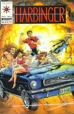 Comic Cover for Harbinger (#1)