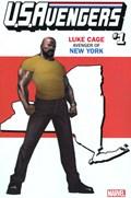 U.S.AVENGERS #1LL  Variant Cover Rod Reis New York State Variant Cover