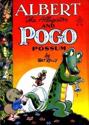 Comic Cover for Albert The Alligator And Pogo Possum (Four-Color) (#148)