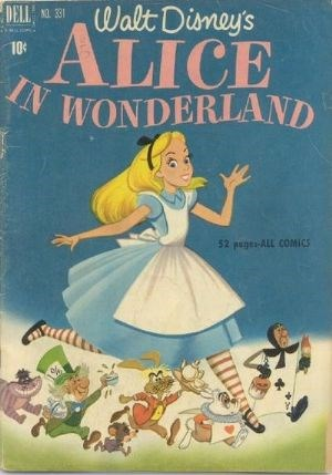(Dell) Cover for Alice In Wonderland (Four-Color) #331