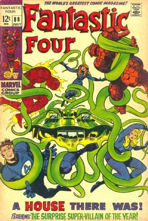 Comic Cover for Fantastic Four (#88)