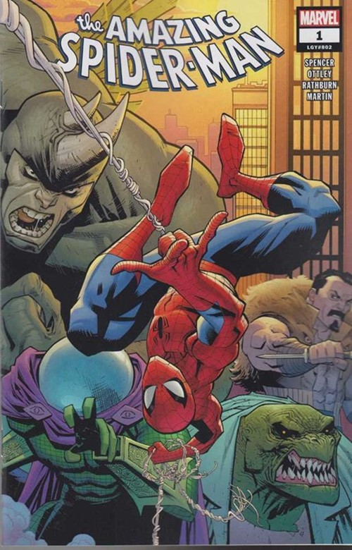 /AMAZING SPIDER-MAN, THE #1