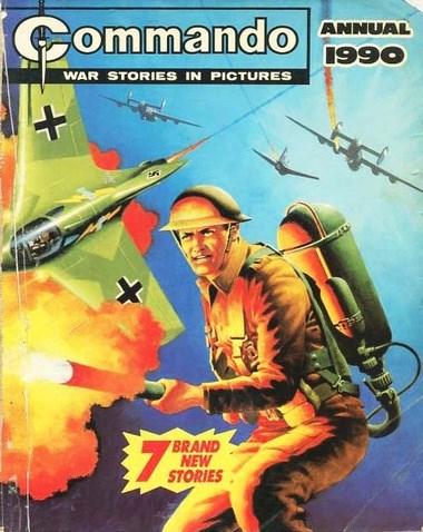 (DC Thomson) Cover for Commando #1990