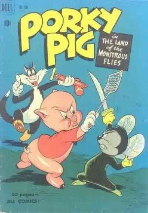Comic Cover for Porky Pig (Four Color) (#303)