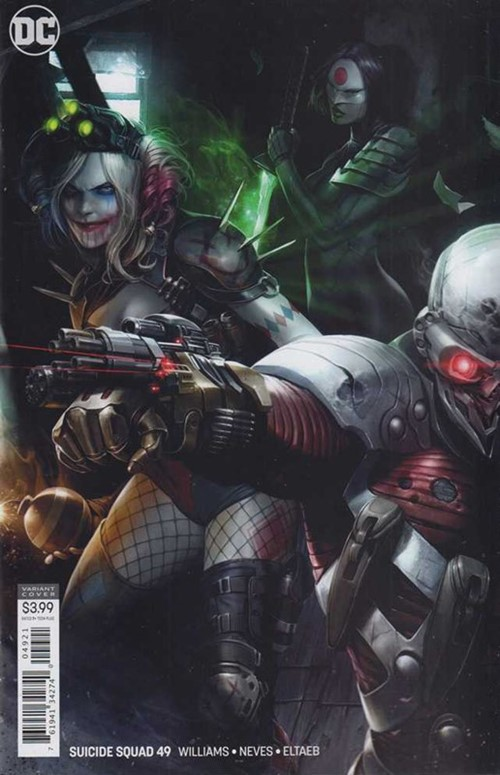 (DC) Cover for Suicide Squad #49 Francesco Mattina Variant Cover