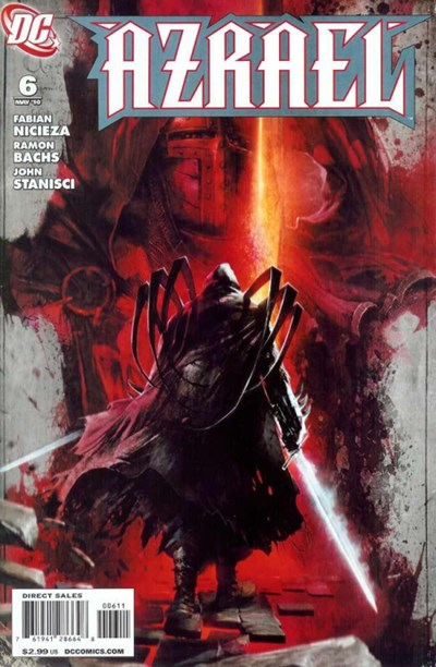(DC) Cover for Azrael #6