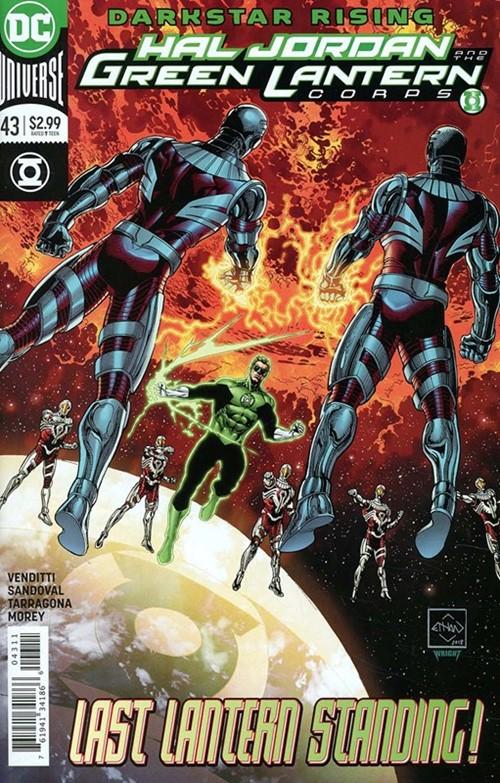 Comic Cover for Hal Jordan & The Green Lantern Corps (#43)