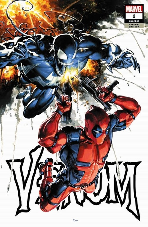 (Marvel) Cover for Venom #1 Clayton Crain Variant Limited to 3000