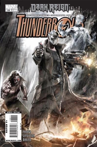 (Marvel) Cover for Thunderbolts #138
