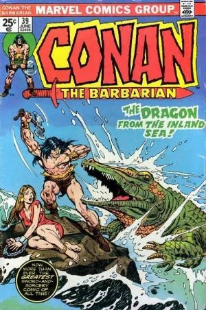 Comic Cover for Conan The Barbarian (#39)