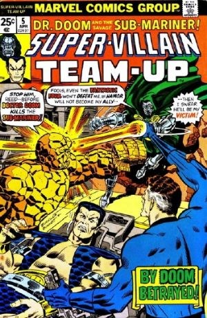 Comic Cover for Super-Villain Team-Up (#5)