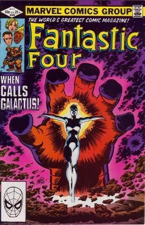 (Marvel) Cover for Fantastic Four #244 1st Appearance of Frankie Raye as Nova