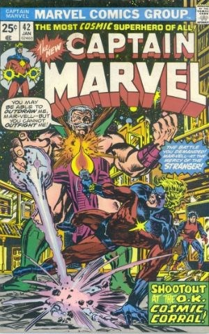 Comic Cover for Captain Marvel (#42)